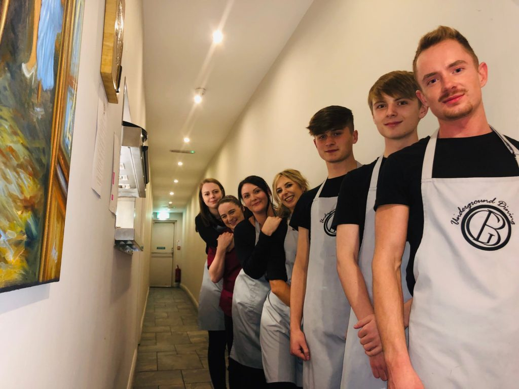 Front of house team for the Perfect Serve