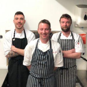 the kitchen team - underground dining
