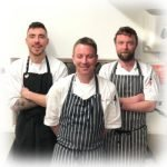 Photo of the kitchen team