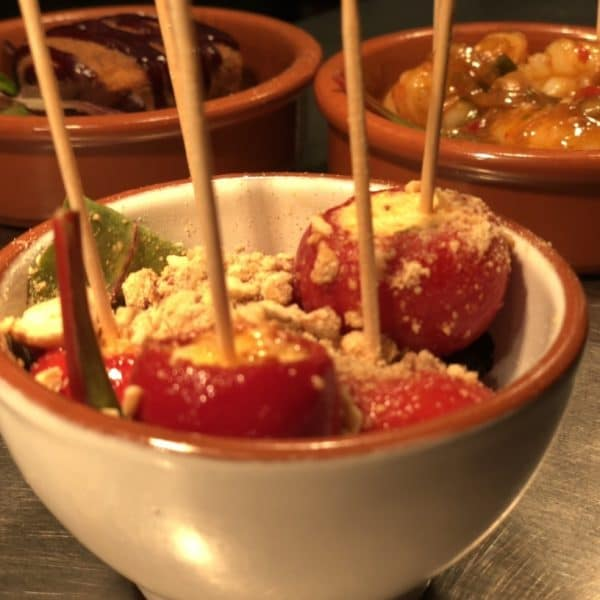 Ricotta Stuffed Sweet Red Poponcini Peppers - Underground Dining tasters